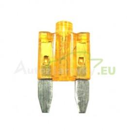 Autopoistka MINI 5A oranžová s LED kontrolkou