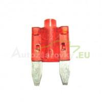 Autopoistka MINI 10A červená s LED kontrolkou
