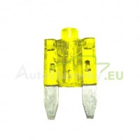 Autopoistka MINI 20A žltá s LED kontrolkou