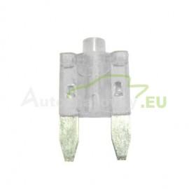 Autopoistka MINI 25A biela s LED kontrolkou