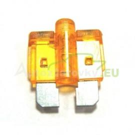 Autopoistka MEDIUM 5A oranžová s LED kontrolkou