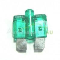 Autopoistka MEDIUM 30A zelená s LED kontrolkou
