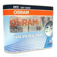 OSRAM SILVERSTAR H1 12V 55W DUO