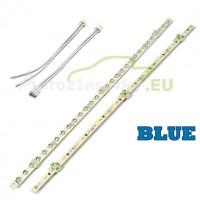 LED pásik 30 LED 375mm - modrý