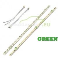 LED pásik 30 LED 375mm - zelený