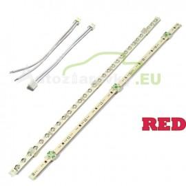LED pásik 30 LED 375mm - červený