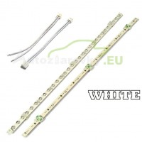 LED pásik 30 LED 375mm - biely