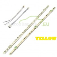 LED pásik 30 LED 375mm - žltý