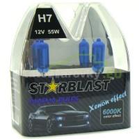 Plazmové autožiarovky STARBLAST Xenon effect 6000K  H7 55W