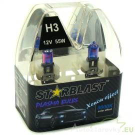 Plazmové autožiarovky STARBLAST Xenon effect 8000K H3 55W