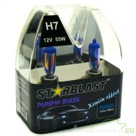 Plazmové autožiarovky STARBLAST Xenon effect 8000K H7 55W