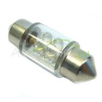 LED Autožiarovky STARBLAST 014101 - S8.5x31 4LED - biele