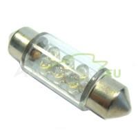 LED Autožiarovky STARBLAST 014102 - S8.5x36 6LED - biele