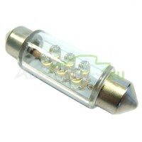LED Autožiarovky STARBLAST 014104 - S8.5x42 6LED - biele