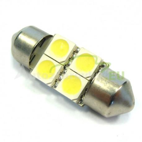 LED Autožiarovky STARBLAST 014106 - S8.5x31 4SMD 5050 - biele