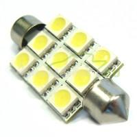 LED Autožiarovky STARBLAST 014109 - S8.5x42 9SMD 5050 - biele