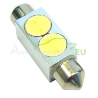 LED Autožiarovky STARBLAST 014114 - S8.5x36 2x05W HP - biele
