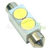 LED Autožiarovky STARBLAST 014116 - S8.5x42 2x05W HP - biele