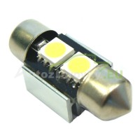 LED Autožiarovky STARBLAST 014116 - S8.5x31 CANBUS 2LED - biele