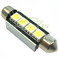 LED Autožiarovky STARBLAST 014118 - S8.5x42 CANBUS 4LED - biele