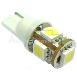LED Autožiarovky STARBLAST 014207 - T10 5SMD 5050 - biele