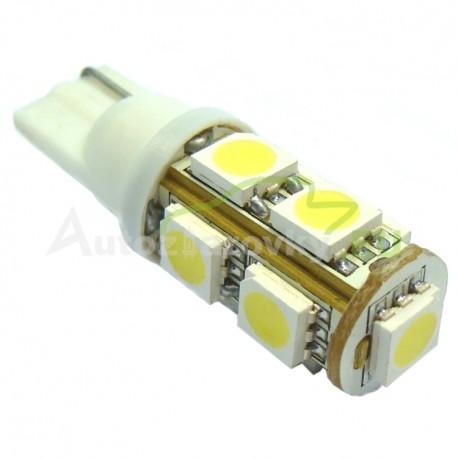 LED Autožiarovky STARBLAST 014208 - T10 9SMD 5050 - biele