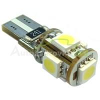 LED Autožiarovky STARBLAST 014302 - T10 5SMD CANBUS - biele