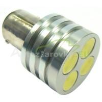 LED Autožiarovky STARBLAST 0145304 BAY15D 4W HP LED - biele