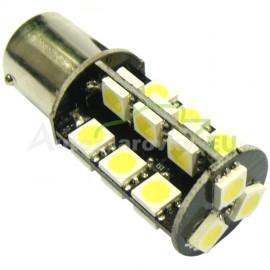 LED Autožiarovky STARBLAST 0146101 BA15S CANBUS 27SMD 5050 - biele