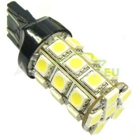 LED Autožiarovky STARBLAST 014701 T20 27SMD - biele