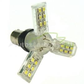LED Autožiarovka STARBLAST sba033s BAY15D 3STAR - biele