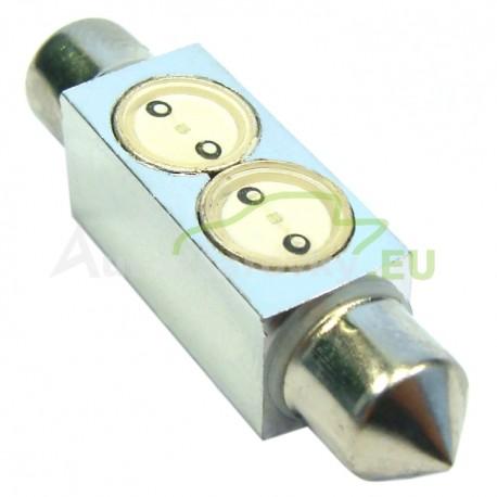LED Autožiarovky STARBLAST 1141145 - S8.5x39 2x05W HP - červené