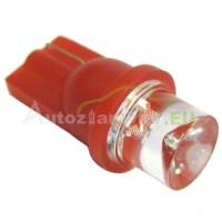LED Autožiarovky STARBLAST 114202 - T10 1LED konkav - červené