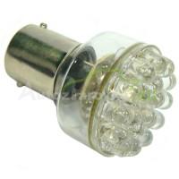 LED Autožiarovky STARBLAST 1145102 BA15S 24LED - červené