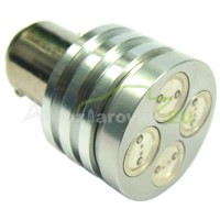 LED Autožiarovky STARBLAST 1145304 BAY15D 4W HP LED - červené