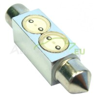 LED Autožiarovky STARBLAST 214115 - S8.5x39 2x05W HP - žlté