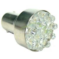LED Autožiarovky STARBLAST 2145101 BA15S 12LED - oranžové