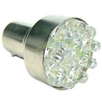 LED Autožiarovky STARBLAST 2145201 BAU15S 12LED - oranžové