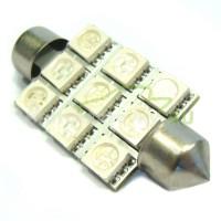 LED Autožiarovky STARBLAST 414109 - S8.5x42 9SMD 5050 - modré