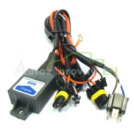 Kabeláž z riadiacou jednotkou pre výbojky H4