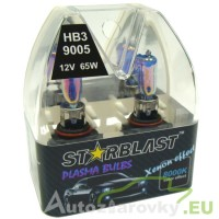 Plazmové autožiarovky STARBLAST Xenon effect 8000K HB3 9005 65W