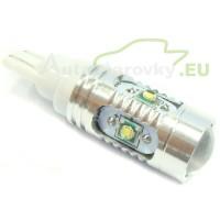 CREE LED Autožiarovky STARBLAST 016201 - T10 25W 5x5W - biele