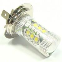LED Autožiarovky STARBLAST 0169402 - H7 80W 16x CREE LED - biele