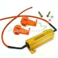 LED rezistor 50W 3Ohm
