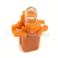 LED Autožiarovky STARBLAST 11610101 - B8.3D - červené