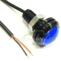 Konštrukčná 12V LED s káblom - modrá