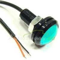 Konštrukčná 12V LED s káblom - zelená