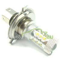 LED Autožiarovky STARBLAST 0169302 - H4 80W 16x OSRAM LED - biele
